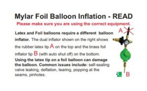 Foil Balloon Inflation Guide